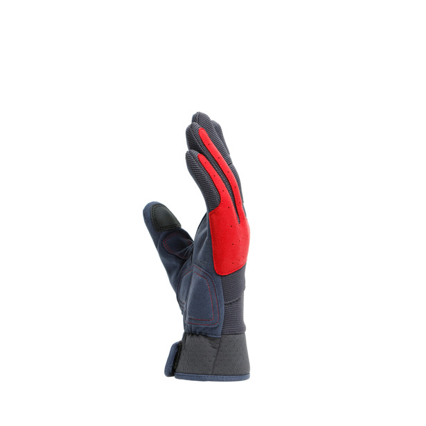 DJADO UNISEX GLOVES EBONY/POMPEIAN-RED- Womens