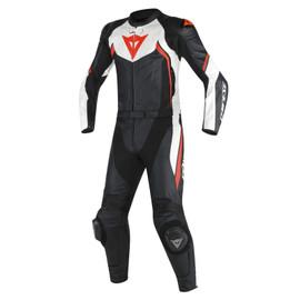 AVRO D2 2PCS SUIT BLACK/WHITE/RED-FLUO- Two Piece Suits