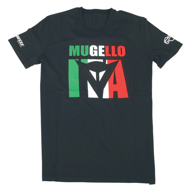 MUGELLO D1 T-SHIRT BLACK- T-Shirts