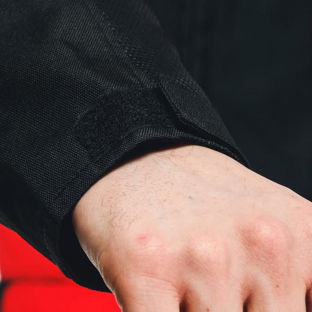 ELETTRICA AIR TEX JACKET BLACK/BLACK/LAVA-RED- Textil