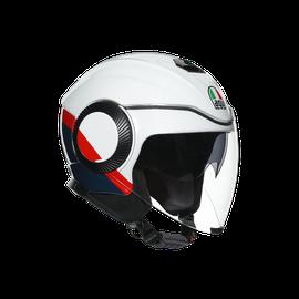 ORBYT E2205 MULTI - BLOCK PEARL WHITE/EBONY/RED FL