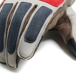 ARLIT UNSEX GLOVES FEATHER-GRAY/MOREL/POMPEIAN-RED- Handschuhe
