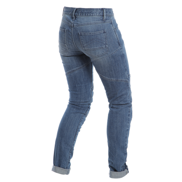 AMELIA SLIM LADY JEANS MEDIUM-DENIM- Hosen