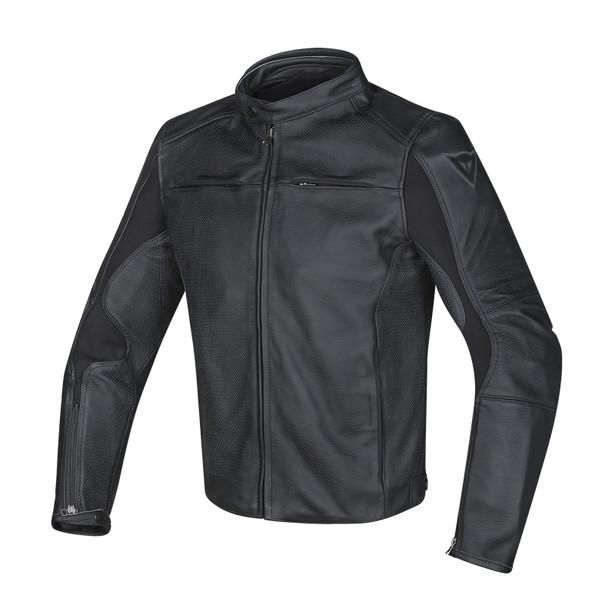 RAZON PELLE ESTIVO BLACK- Leather