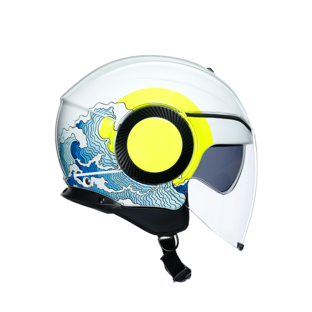 ORBYT E2205 MULTI - SUNSET WHITE/YELLOW FLUO - Orbyt