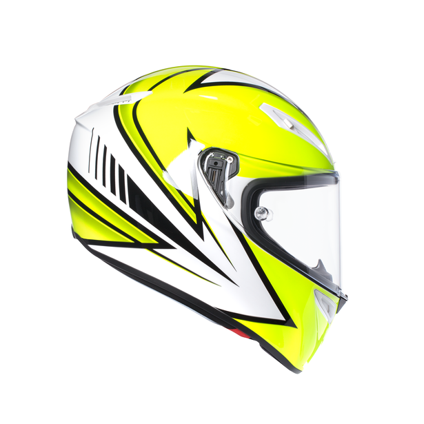 VELOCE S E2205 MULTI - VITALI 2016  YELLOW FL./WHT - Full-face