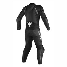 AVRO D2 2PCS PERFORATED SUIT BLACK/BLACK/ANTHRACITE- undefined