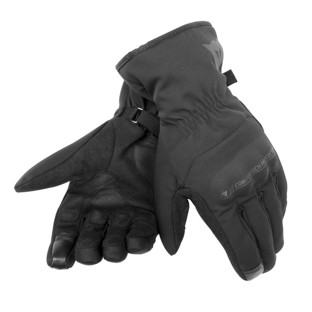 ALLEY UNISEX D-DRY® GLOVES BLACK/BLACK- Gants