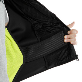 SMART JACKET BLACK/FLUO-YELLOW- D-air