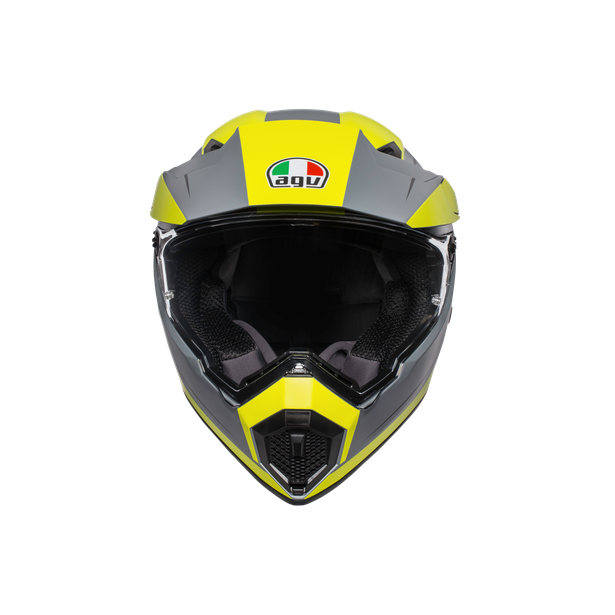 AX9 MULTI E2205 - PACIFIC ROAD MATT GREY/YELLOW FLUO/BLACK - Intégral