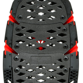 PRO-SPEED BACK - MEDIUM BLACK/RED- Safety