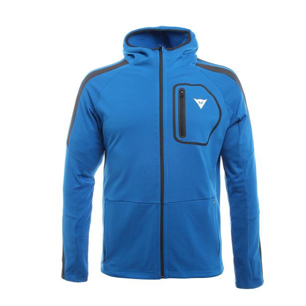 HP2 FULL ZIP - HOODED MAN BLUE-ASTER/BLACK-IRIS- Unterwäsche
