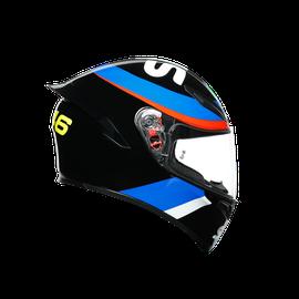 K1 REPLICA ECE2205 - VR46 SKY RACING TEAM BLACK/RED  - K1