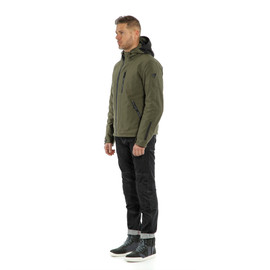 MAYFAIR D-DRY JACKET BLACK/GRAPE-LEAF/GRAPE-LEAF- D-Dry®