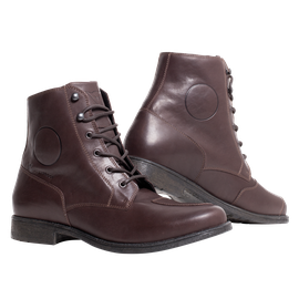SHELTON D-WP SHOES DARK-BROWN