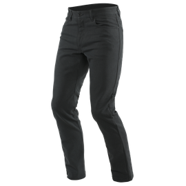 CASUAL SLIM TEX PANTS BLACK