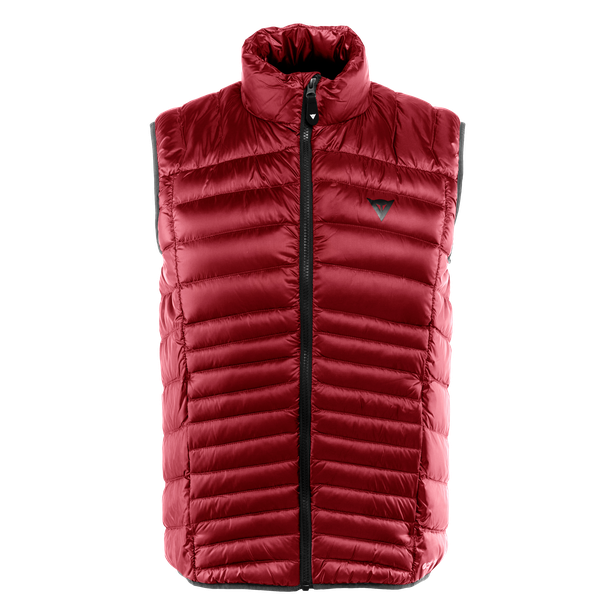 PACKABLE DOWNVEST MAN CHILI-PEPPER- Piumini