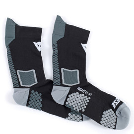 D-CORE MID SOCK BLACK/ANTHRACITE- Unterwäsche