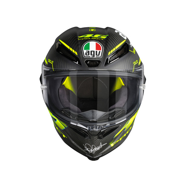 PISTA GP R TOP ECE DOT PLK - PROJECT 46 2.0 MATT CARBON - Promotions