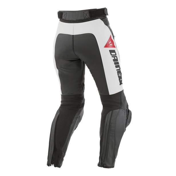 DELTA PRO C2 PELLE LADY BLACK/WHITE- Pants