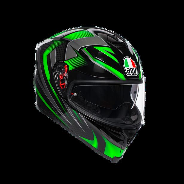 K5 S E2205 MULTI - HURRICANE 2.0 BLACK/GREEN - K5 S