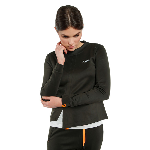 AWA BLACK SOFT FLEECE WMN NINE-IRON- AWA Black