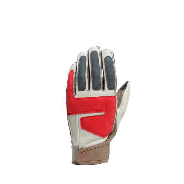 ARLIT UNSEX GLOVES FEATHER-GRAY/MOREL/POMPEIAN-RED- Dunes