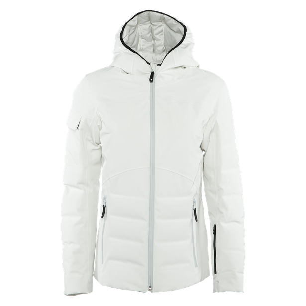 SKI DOWNJACKET SPORT WOMAN LILY-WHITE- Piumini