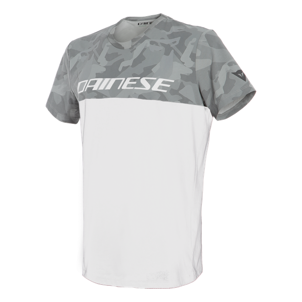 CAMO-TRACKS  T-SHIRT WHITE/ANTHRACITE- T-Shirts