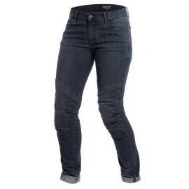 AMELIA SLIM LADY JEANS DARK-DENIM- Pantalones