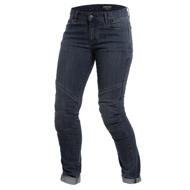 AMELIA SLIM LADY JEANS DARK-DENIM- Denim