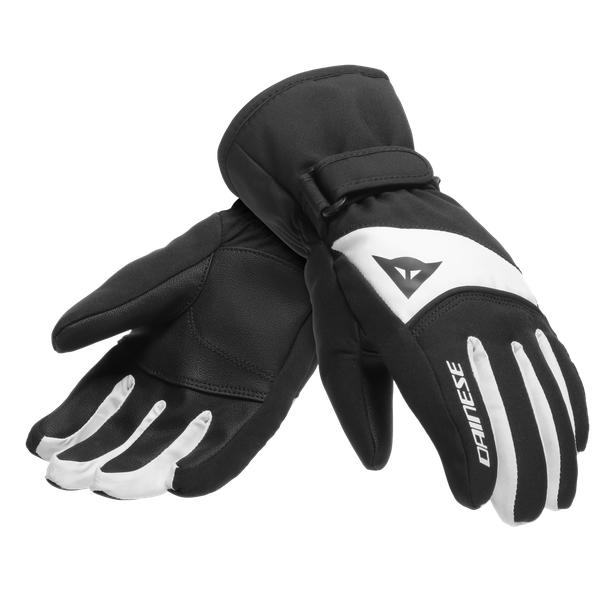 HP SCARABEO GLOVES STRETCH-LIMO/LILY-WHITE- Kids
