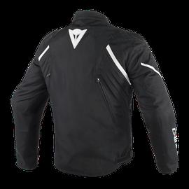 AVRO D2 TEX JACKET BLACK/BLACK/WHITE- Textile