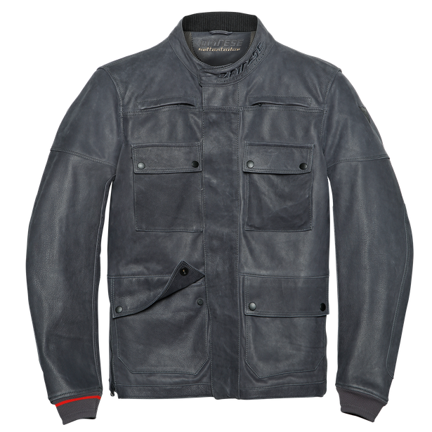 KIDAL LEATHER JACKET EBONY- Leather