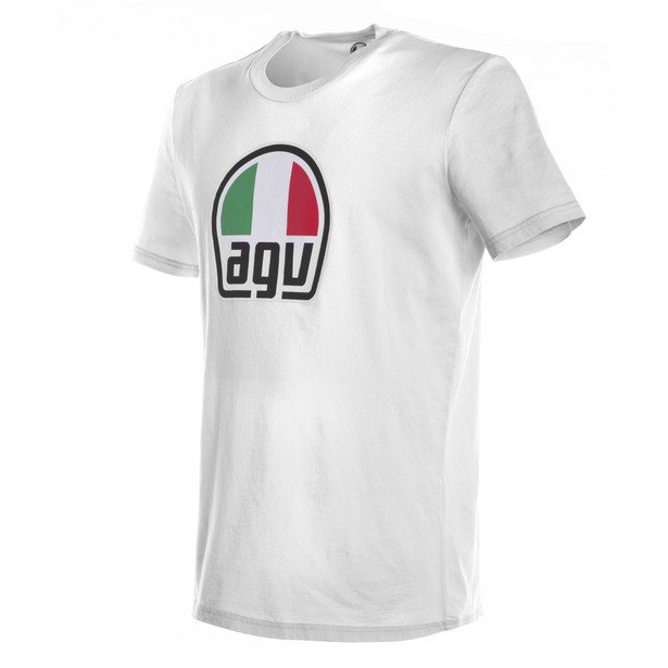 AGV T-SHIRT WHITE- Casual