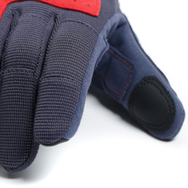 DJADO UNISEX GLOVES EBONY/POMPEIAN-RED- Gants