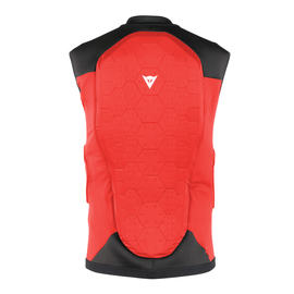 FLEXAGON WAISTCOAT KID RED/BLACK- Back