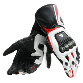 STEEL-PRO GLOVES BLACK/WHITE/RED- Pelle