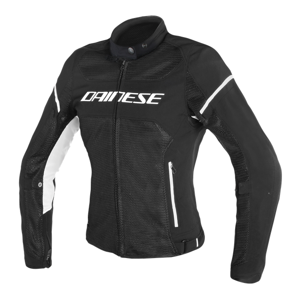 AIR FRAME D1 LADY TEX JACKET BLACK/BLACK/WHITE- Textile