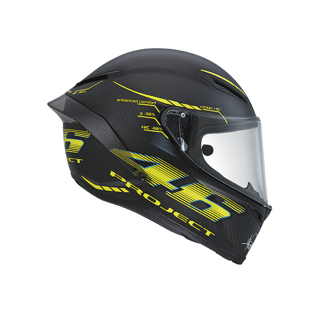 Motorcycle Racing Helmet Gp Track E2205 Top Project 46 2 0 Agv Helmets Dainese Official Shop