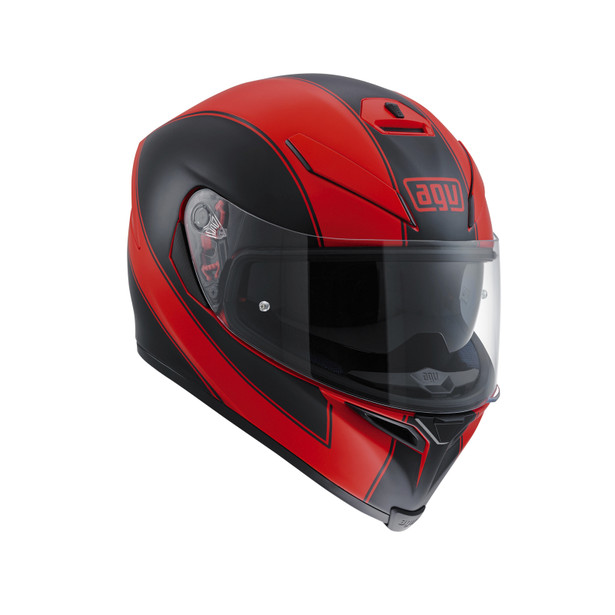 K-5 S E2205 MULTI - ENLACE RED MATT/BLACK - Full Face