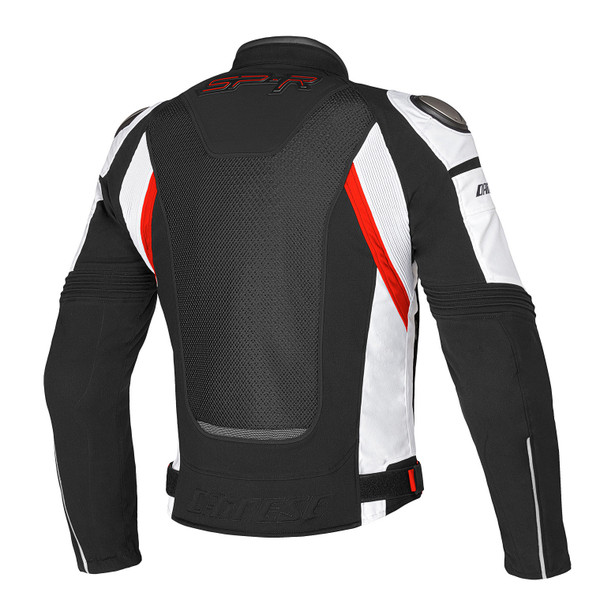 SUPER SPEED TEX BLACK/WHITE/RED- Textile