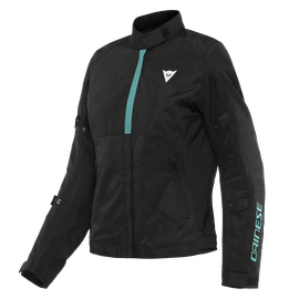 RISOLUTA AIR TEX LADY JACKET BLACK/ACQUA-GREEN