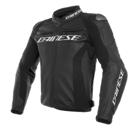 RACING 3 PERF. LEATHER JACKET BLACK/BLACK/BLACK