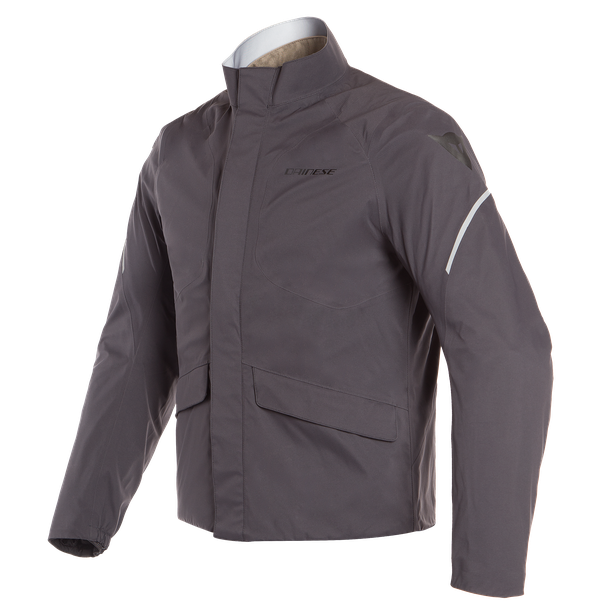 SAURIS D-DRY JACKET BLACK/FALLEN-ROCK/VERMILION-ORANGE- D-Dry®