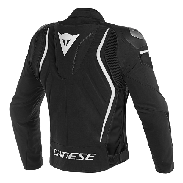 DYNO TEX JACKET BLACK/BLACK/WHITE- Textil