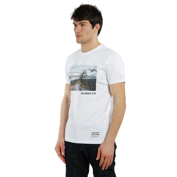 T-SHIRT ADVENTURE DREAM  WHITE/BLACK- Casual Wear