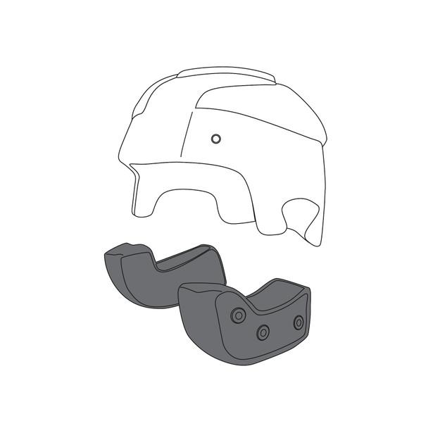 AGV CHEEK PADS RP60 (L) - Cheek Pads