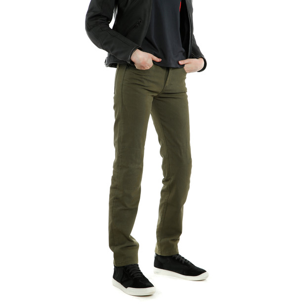 CASUAL REGULAR LADY TEX PANTS OLIVE- Women