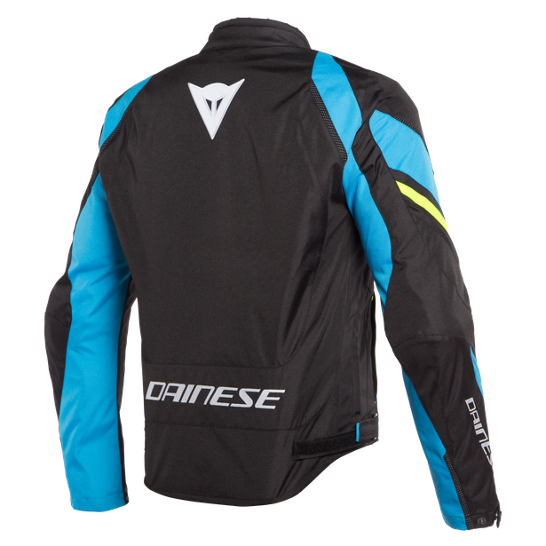 EDGE TEX JACKET BLACK-MATT/FIRE-BLUE/FLUO-YELLOW- Textile